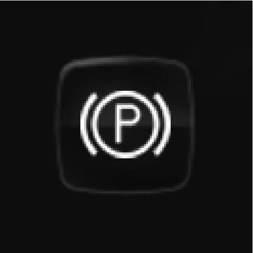P5-1519-XC90 hybrid-Dim soul symbol-parking brake