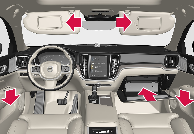 P5-1917-S/V60-Interior storage, front seat