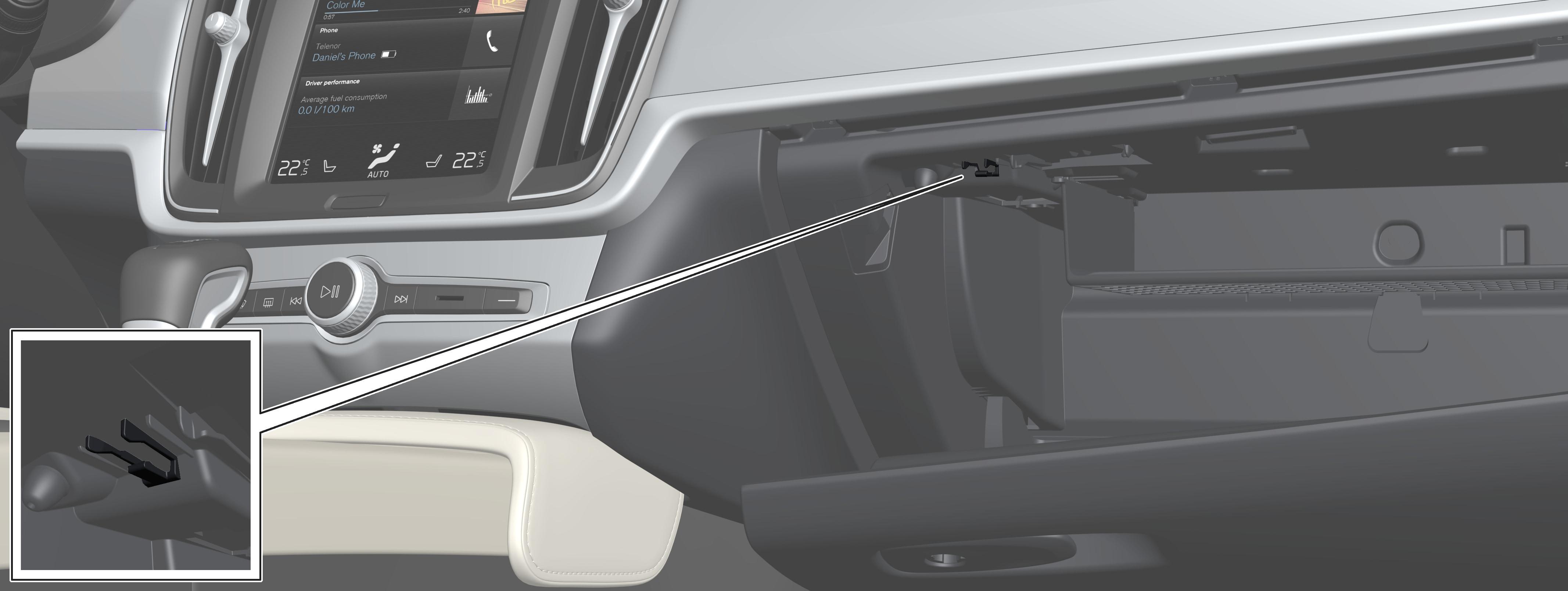 P5-1617-Interior-Gloveboxkey storage