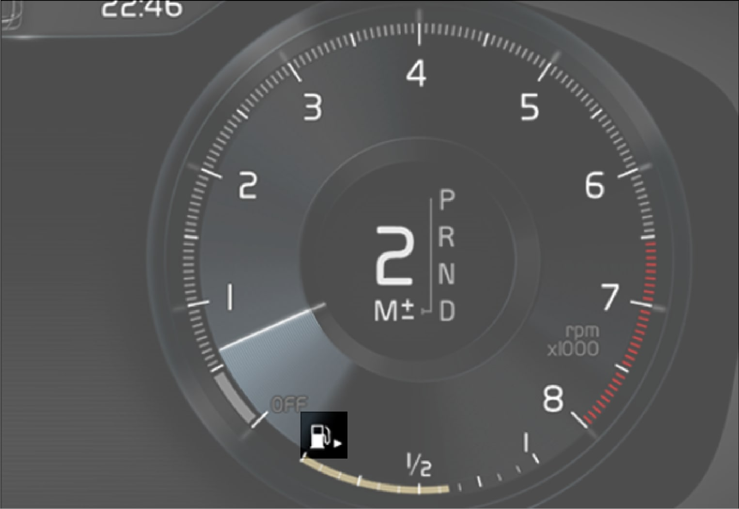 P5-1917-All-Fuel gauge in 12 inch driver display