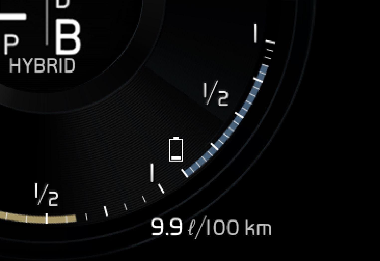P5-1646-XC90H-Hybrid battery gauge