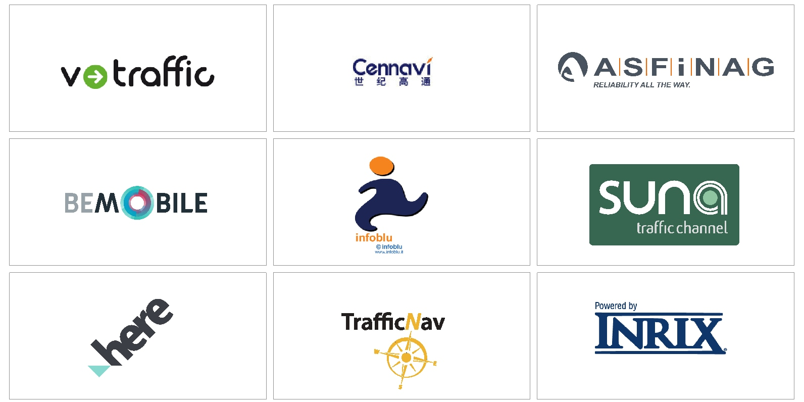 18w10 - P3/P4 - Support site - Traffic provider logotypes
