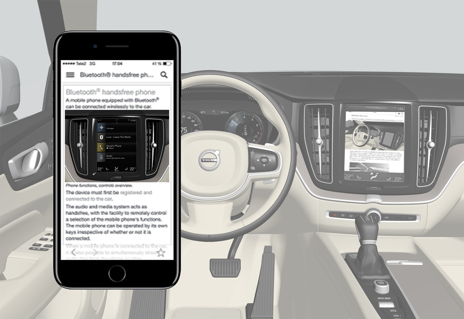 P5-1717-XC60/XC60H-Promote Owners manual app