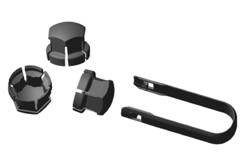 P6-1746-Tool and plastic cap for wheels screws