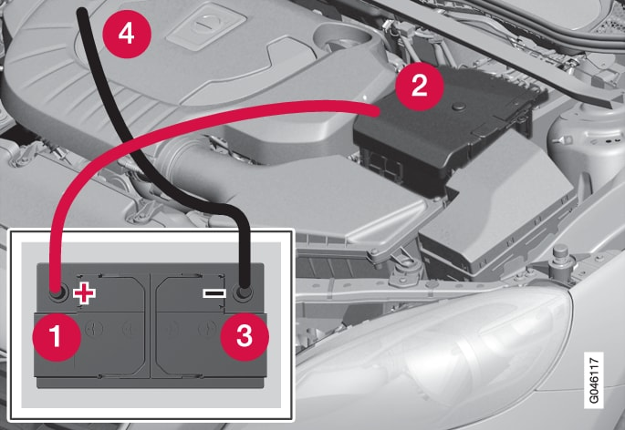 P4-1220-Start engine w auxillary battery