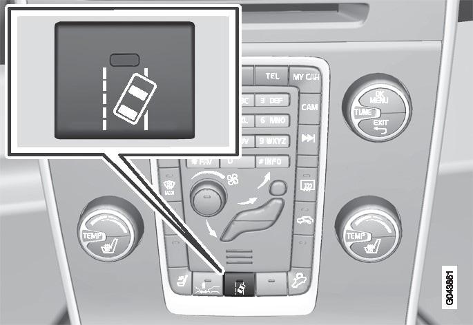 P3-1020-sv60 LDW - PÅ-knapp