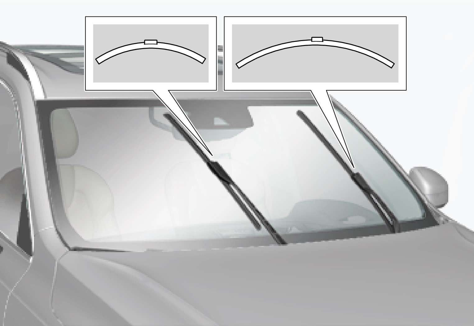 P5-1507-Wiper blades diffrent length