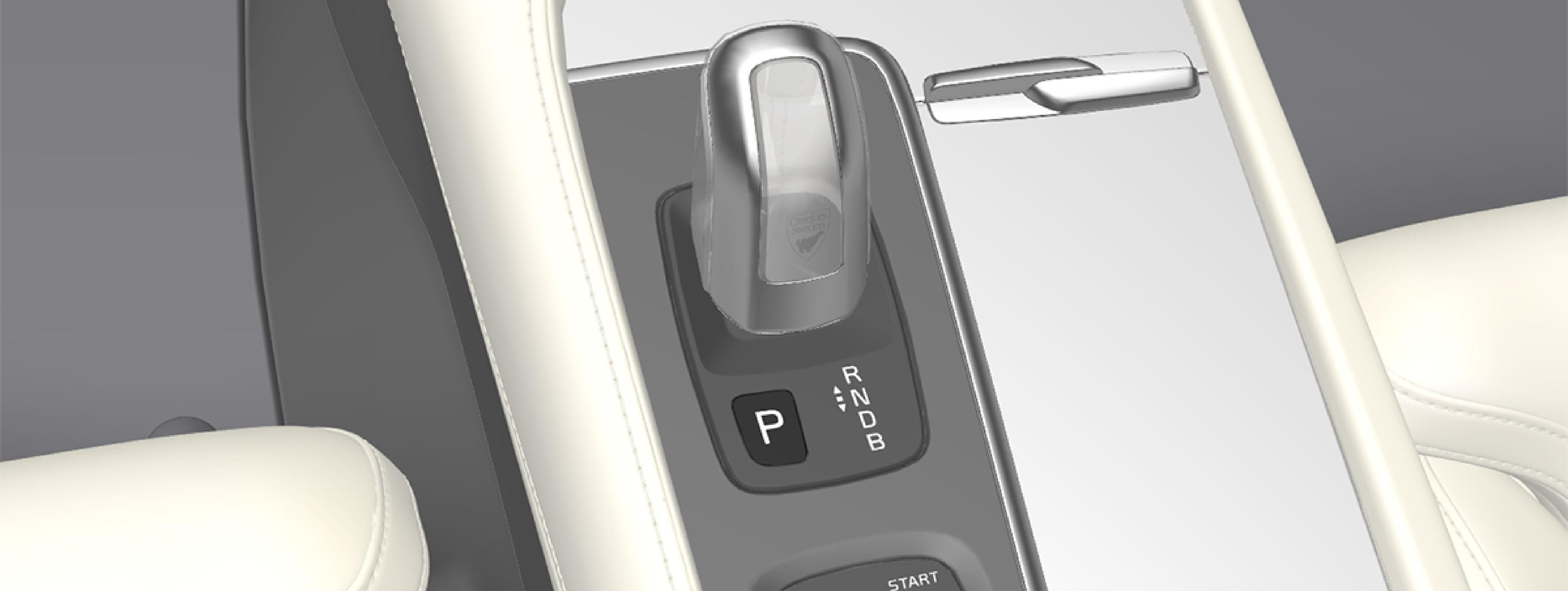 P5-1519-XC90 Hybrid -gear shift to P