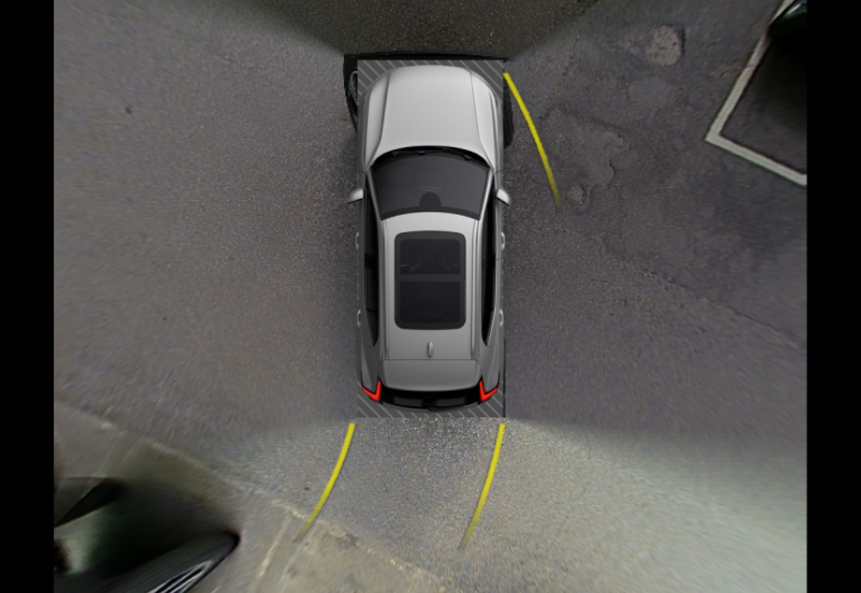 Px-iCup-Park Assist Camera 360-view helplines