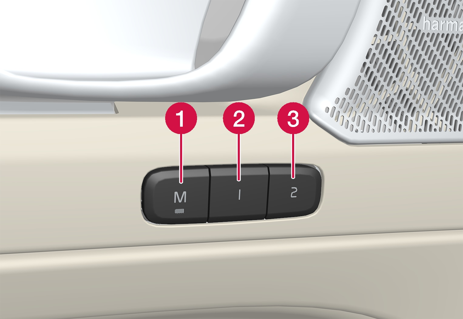 P6-CMA-seat position memory buttons