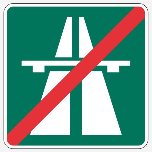 P5-1507-RSI Motorväg upphör