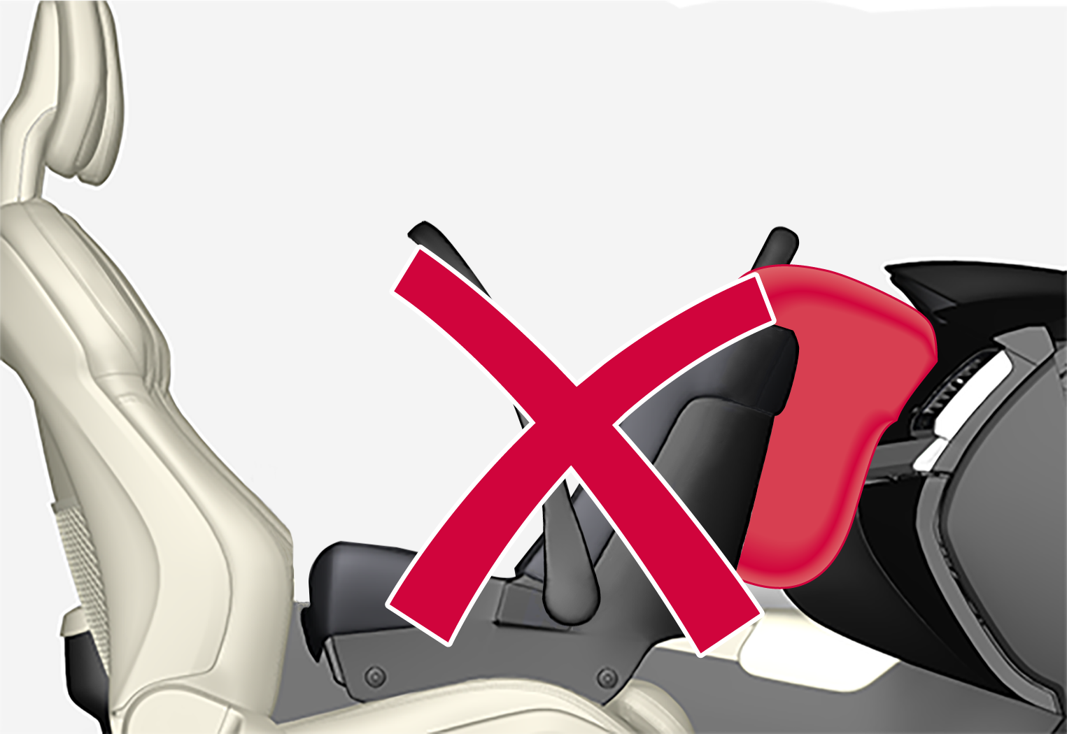 Px-20w37/46–Safety–Child seat and airbag
