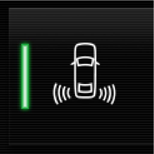 P5-1507-Cross Traffic Alert symbol