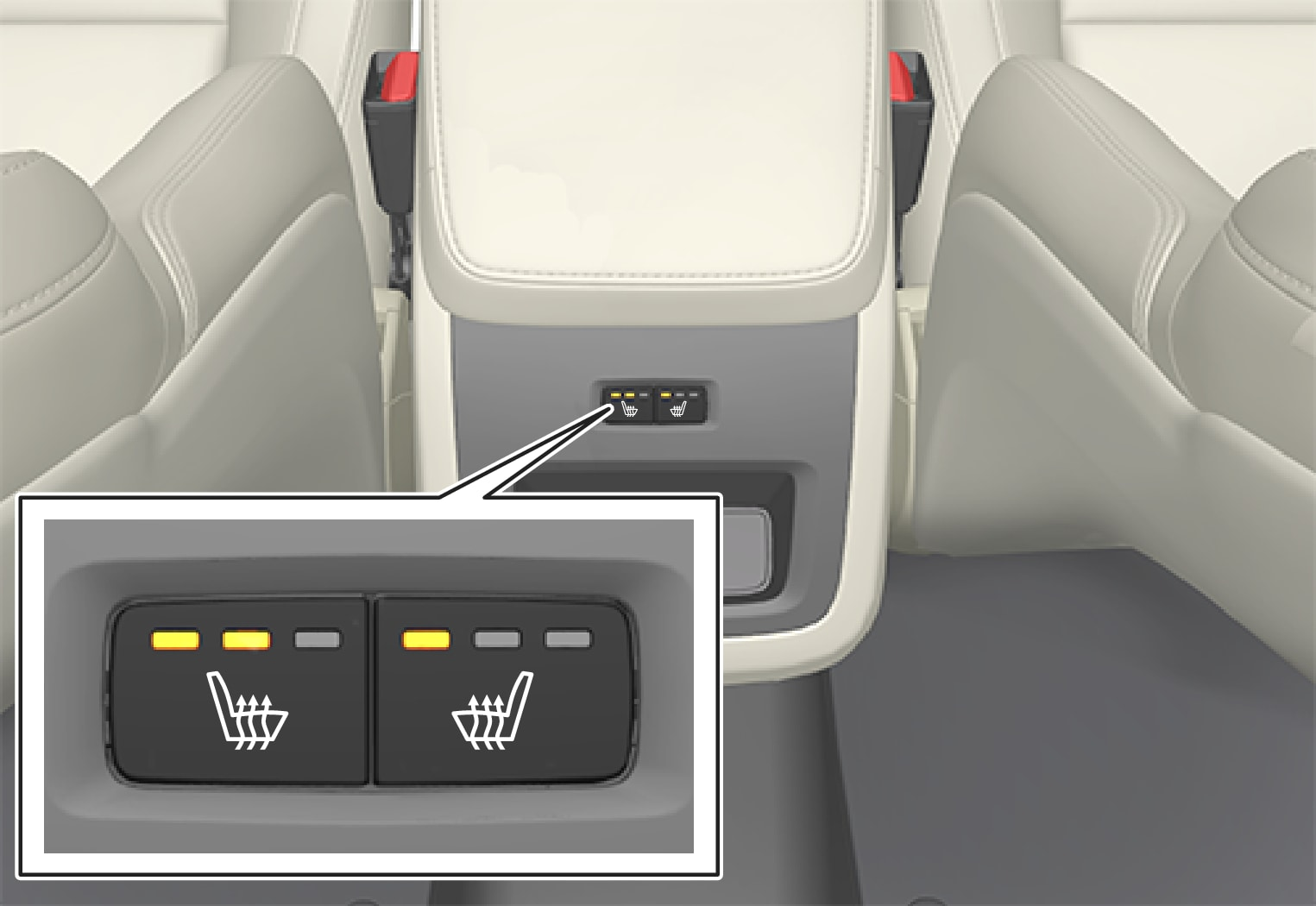 P5-1507–Climate–Rear climate controls physical seat