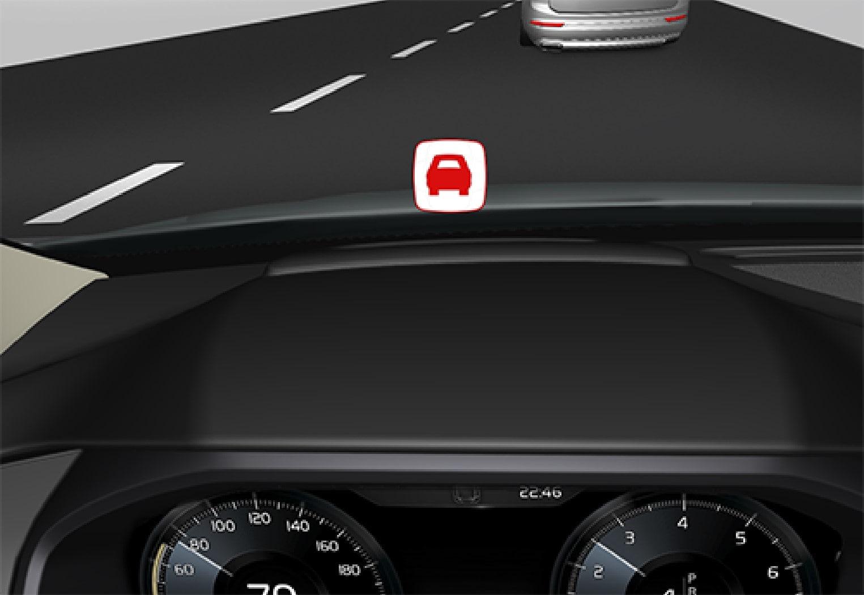 P5-1507 HUD collision warning