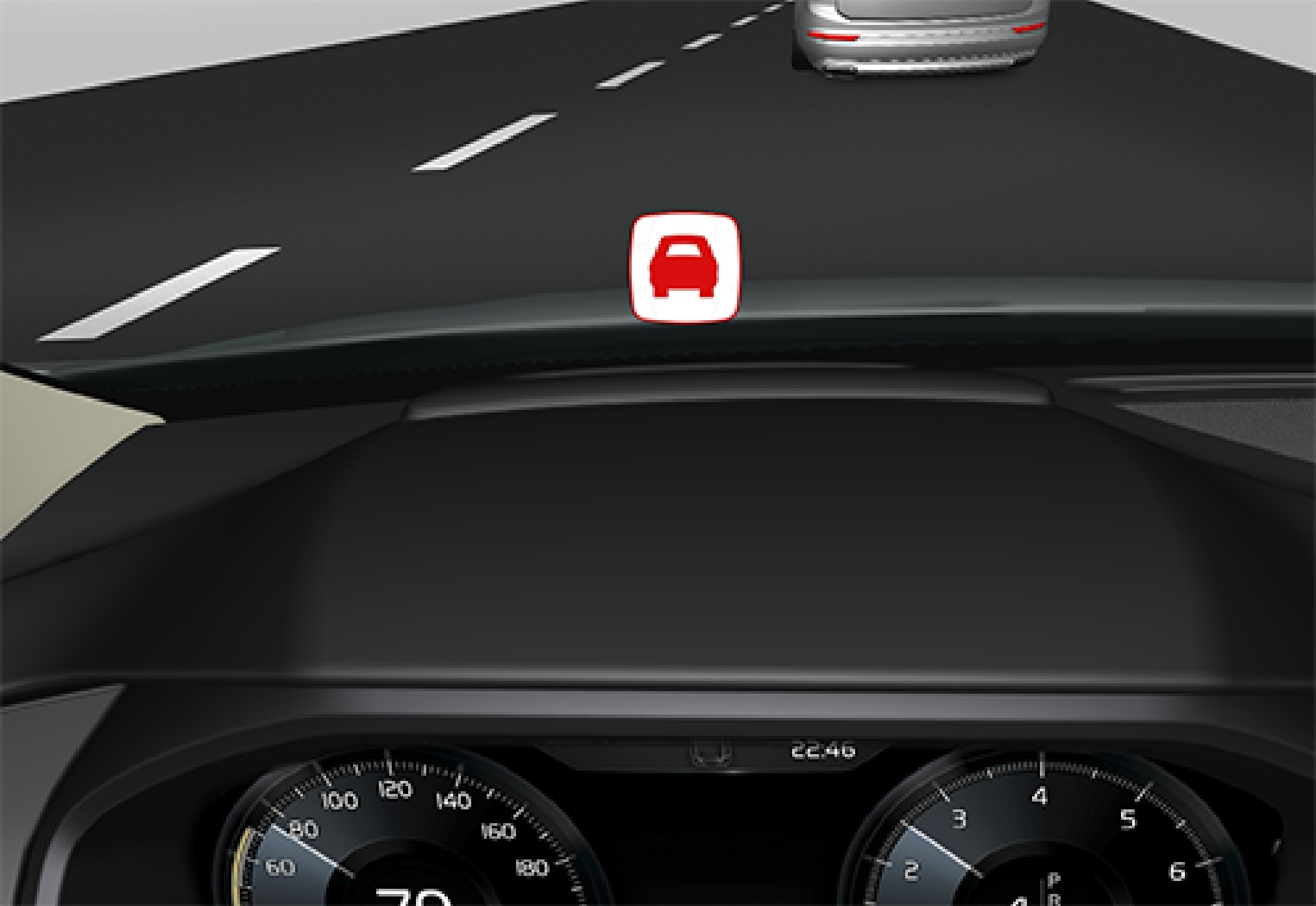 P5-1507 HUD collision warning