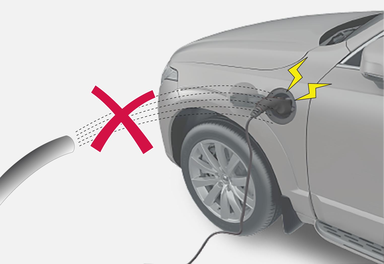 P5P6-2046- Warning charging intake