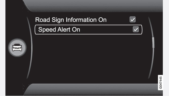 P4-1246-MyCar RSI-SpeedAlertOn