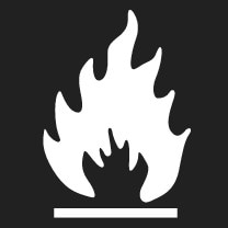 P5-1507-Symbol Flammable refrigerant