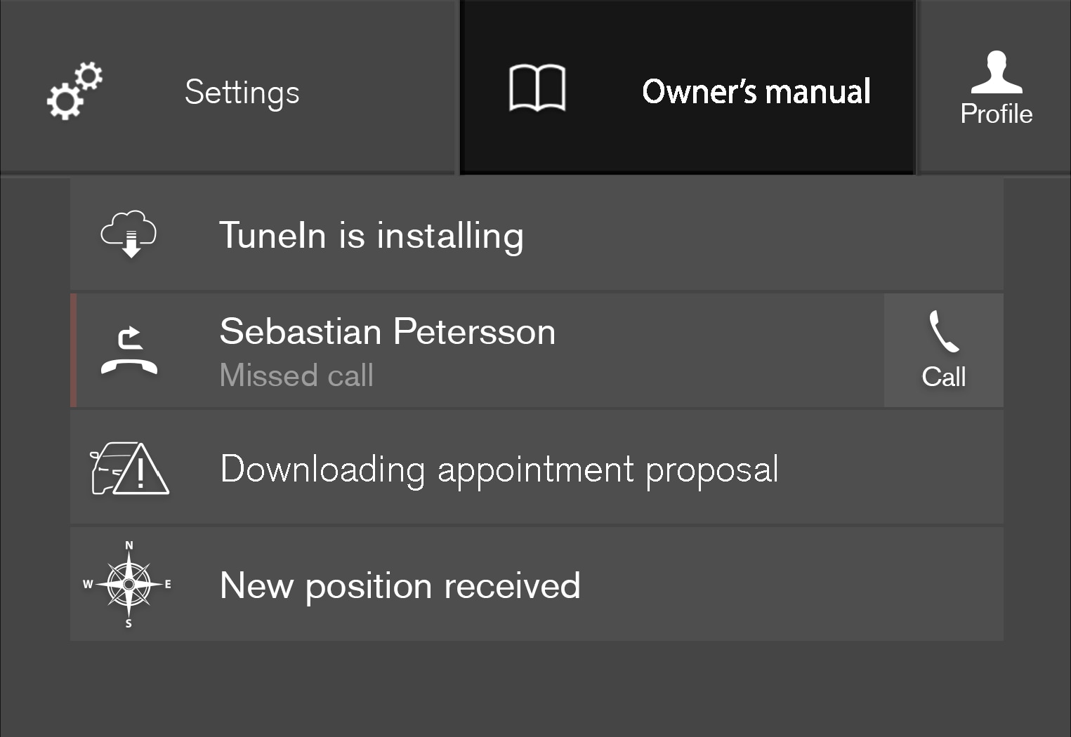 P5-1717-Owner's manual in settings pane-Highlighted