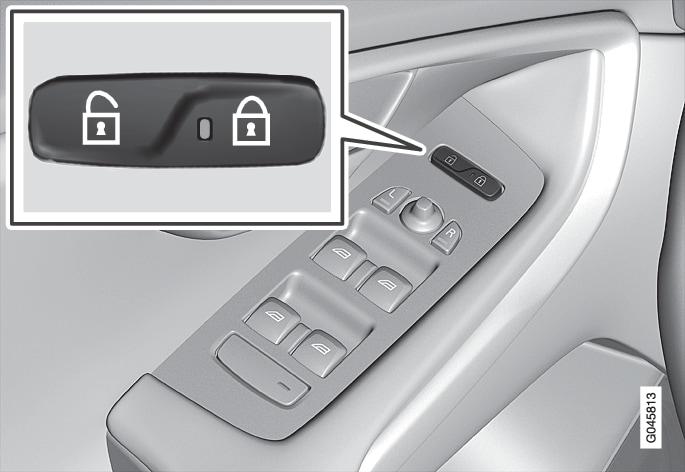 P4-1220-Y55X-Central locking, button