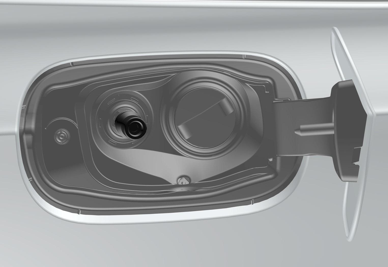 P5-1646-V90 Bi Fuel filling point- Fuel lid