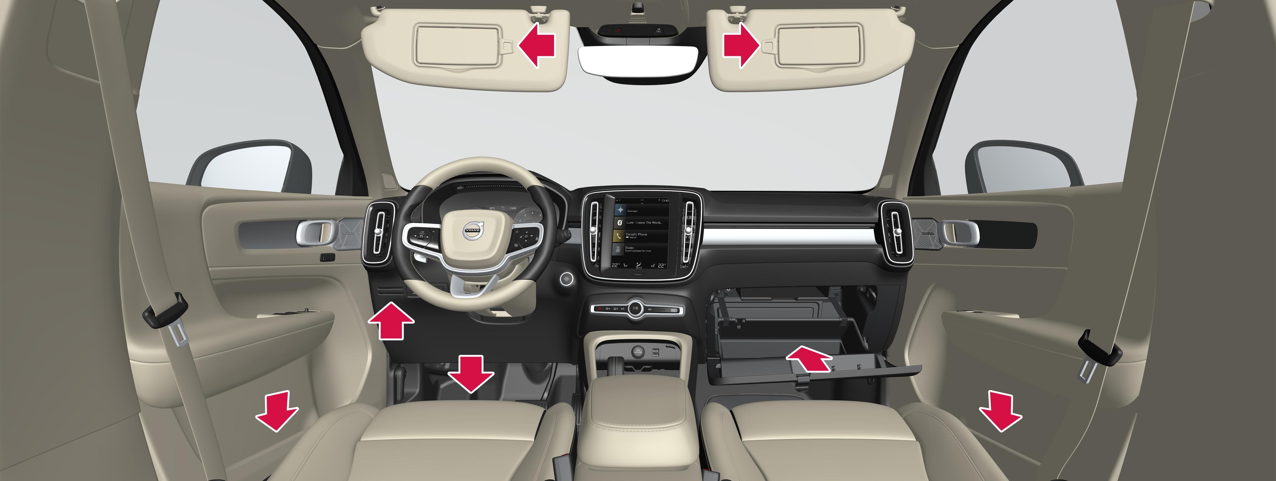 P6-1746-XC40-Interior storage, front seat