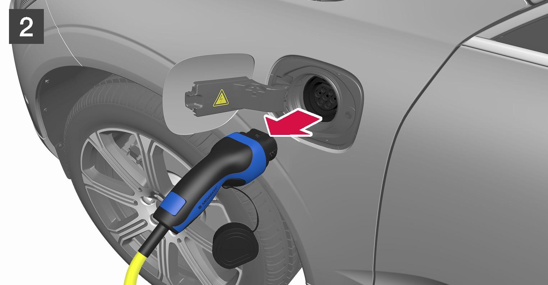P5-1817-S90H/S90LH/V90/XC60H-Plug out cable from car (EU+CH)