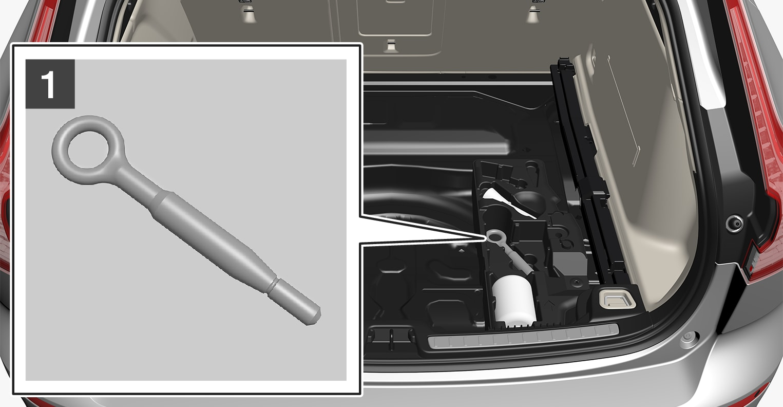 P5-1817-V60-Towing eye, storage step 1