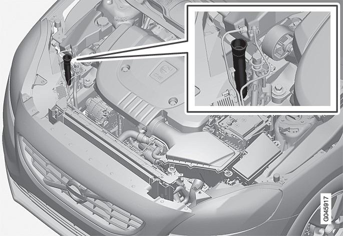 P4-1220-Y55X Filling washer fluid