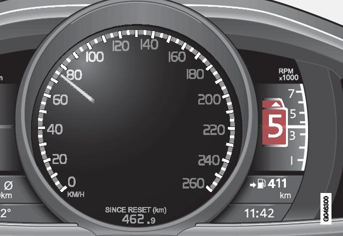 P4-1220-Växelindikator High