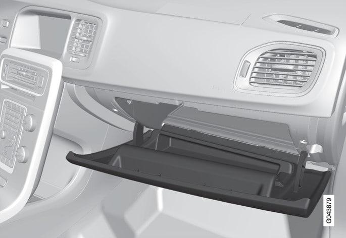 P3-1246-S60/V60/V60H Glove compartment