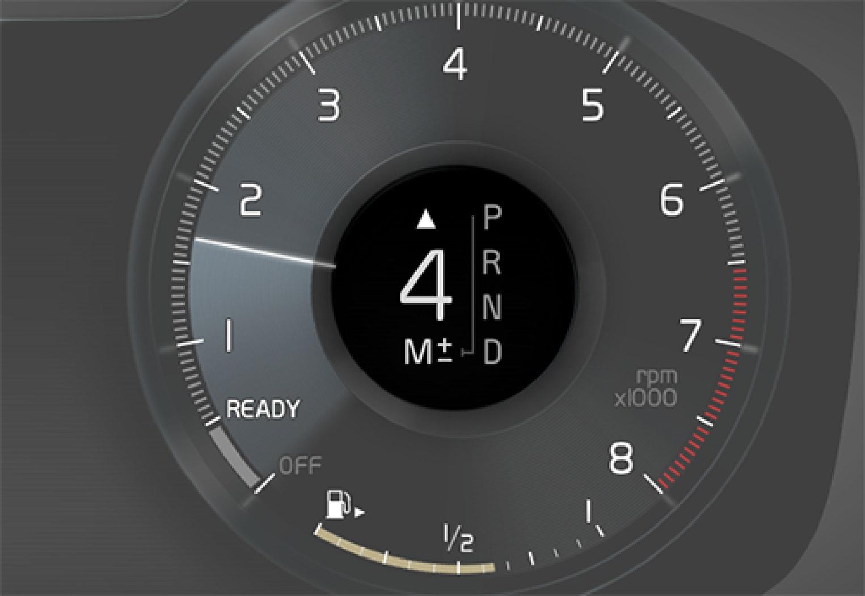 P5-1507-XC90 gear shift indicator 12 tum