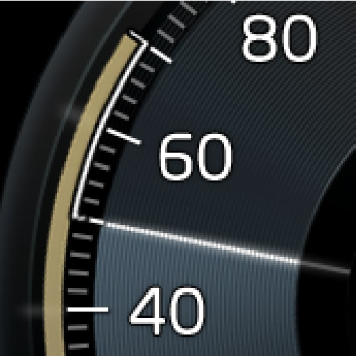 P5-1507-Adapative Cruise Control, higher speed stored/selected