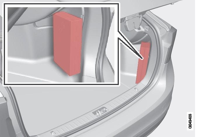 P3-1020-s60-Placering förbandslåda