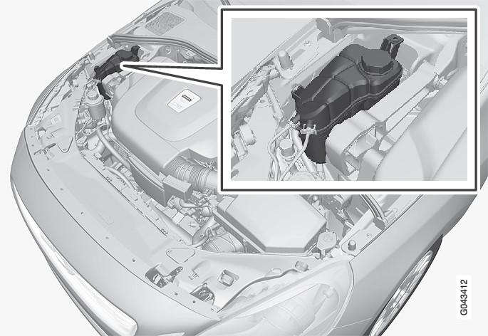 P3-1020-S60/V60-Engine coolant refill