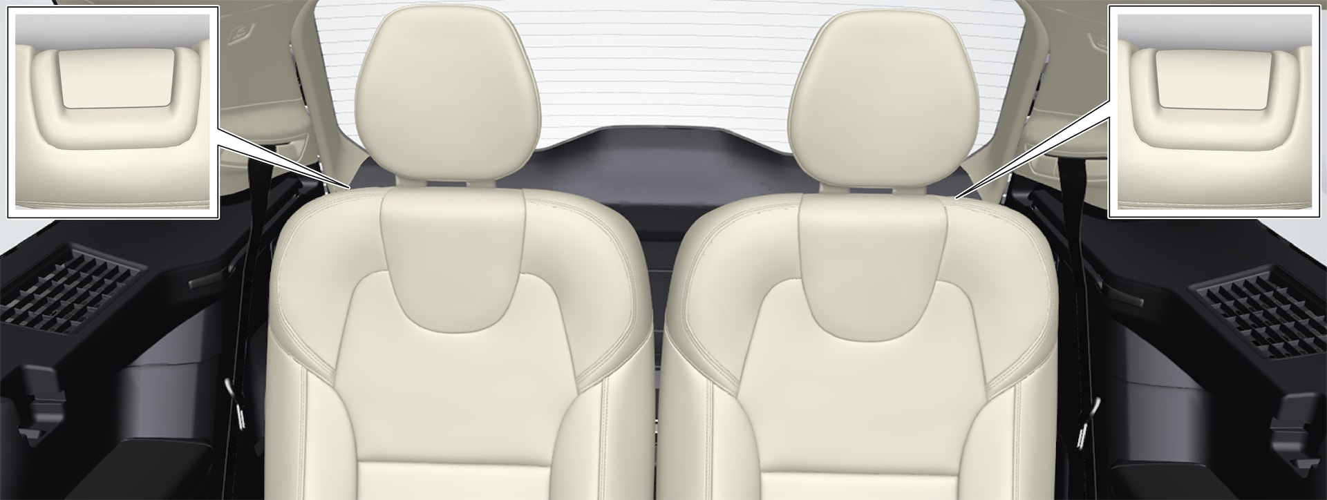 P5-1546--3rd seat row-Manually folding with handle