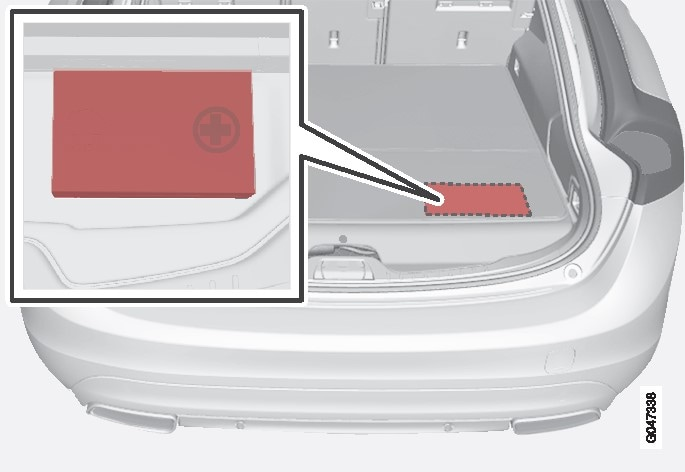 P3-1246-V60H-location of first aid kit