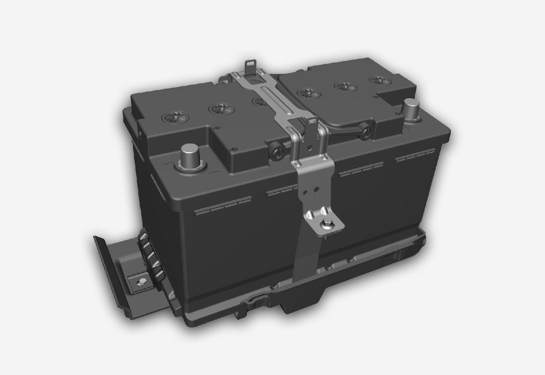 H7 AGM battery.