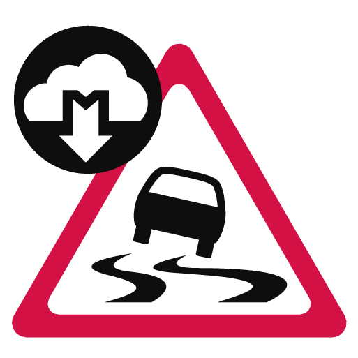 17w06 - P5 - Support site - Connected Safety - Slippery road warning symbol