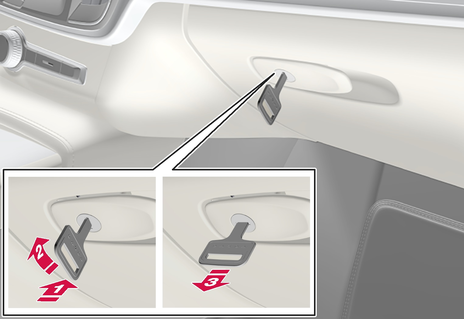 P5-1617-Locking/Unlocking the glovebox