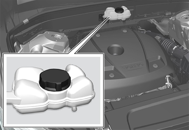 P5-1519 XC90 Hybrid Hybrid battery coolant refill