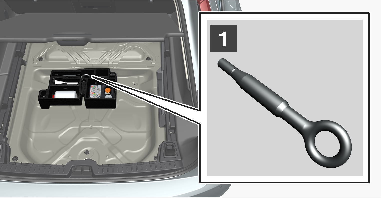 P5-1617-V90-towing eye storage step 1