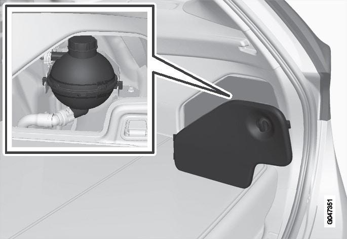 P3-1246-V60H Hybrid battery coolant refill
