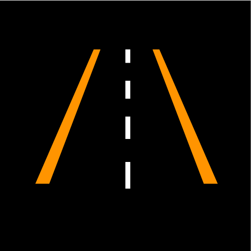 P6-1846-Lane Keeping Aid symbol orange