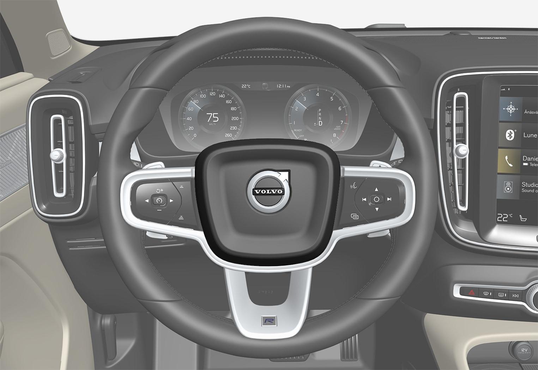 P6-XC40-Steering wheel horn
