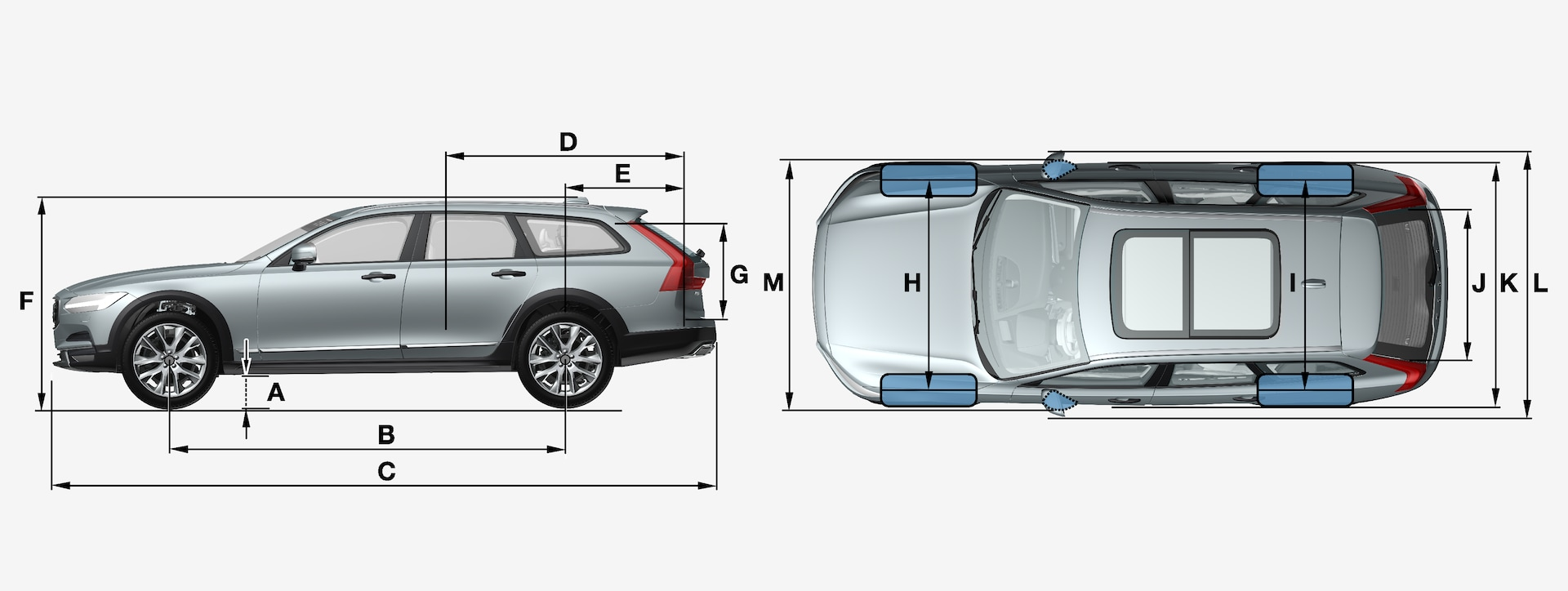 2020 Volvo V90 Specification Pricing