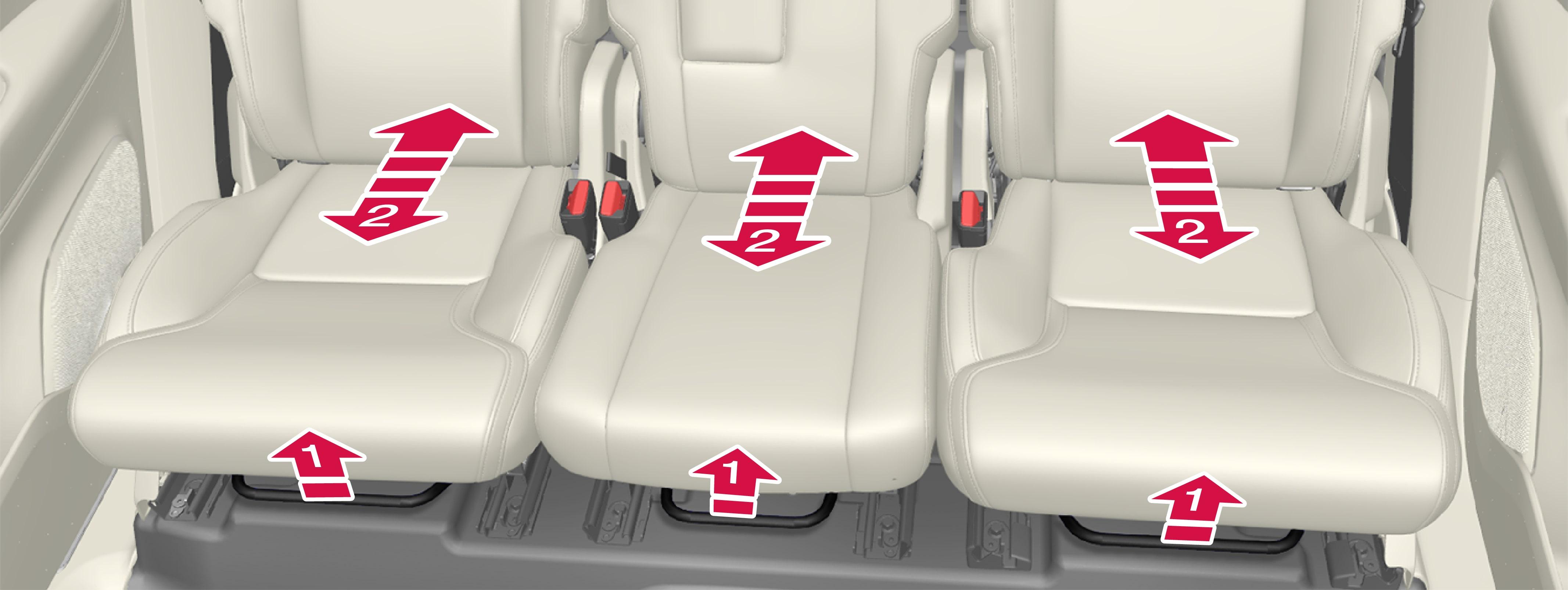 P5-1507-2nd seat row (7 seat car)-Length adjuster handle