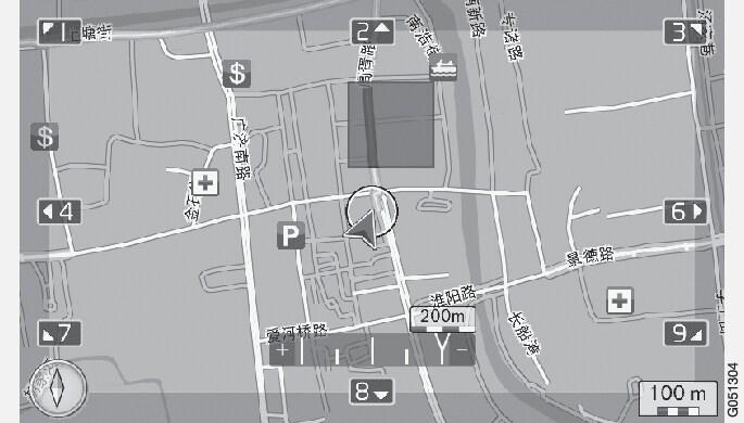 P3-1420-NAV-CHN Meny Inställningar Resväg Undvik område-4
