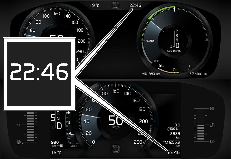 P5 - 15w46 - Clock DIM 8 and 12